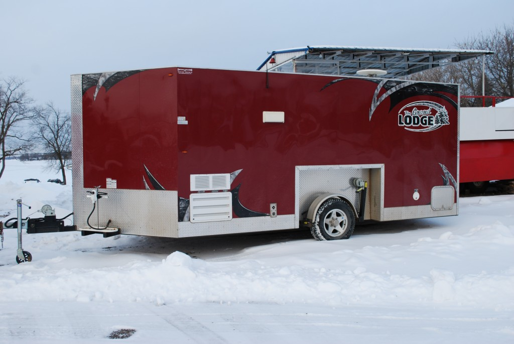 Wheel House Rentals Ice Fishing