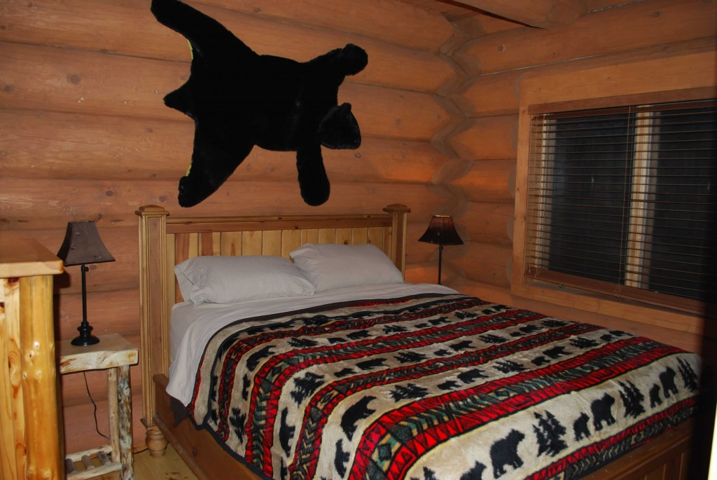Master Bedroom in Black Bear