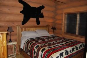 Master Bedroom in Black Bear