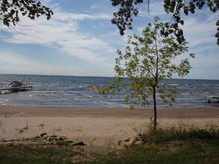 150' of Sand Beach