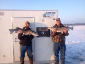 Spearfishing on Millelacs